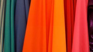 Foto di stoffe di vari colori - PROMODA - Gestionale per aziende di produzione abbigliamento